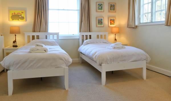 Twin Room at Friary Farmhouse