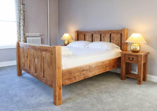 Master bedroom at Friary Farmhouse